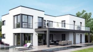Passivhaus im Bauhausstil