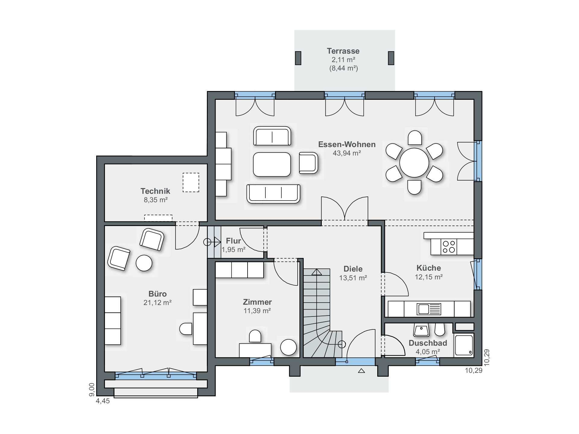 passivhaus planen und bauen informationen und tipps. Black Bedroom Furniture Sets. Home Design Ideas