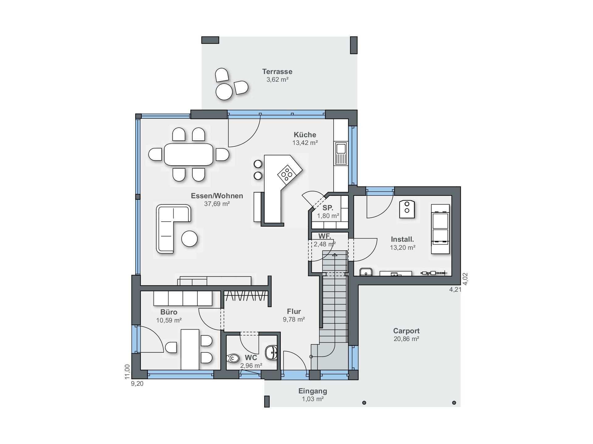 Passivhaus grundriss  Passivhaus planen und bauen   Informationen und Tipps   Musterhaus.net