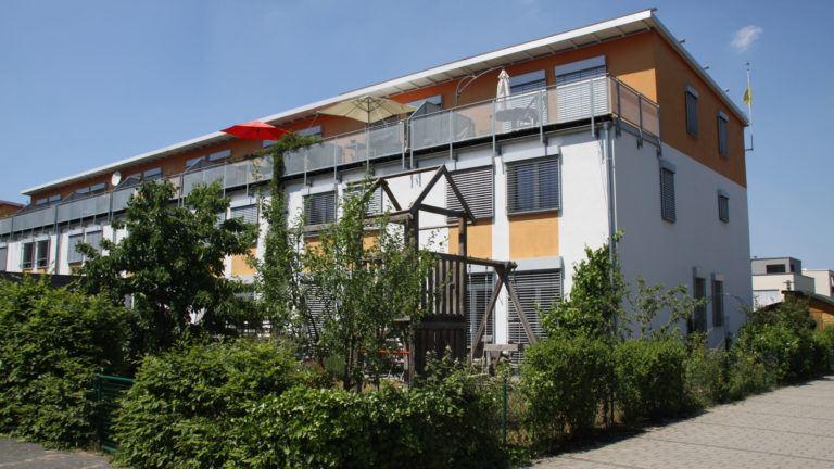 Erstes Passivhaus Darmstadt-Kranichstein