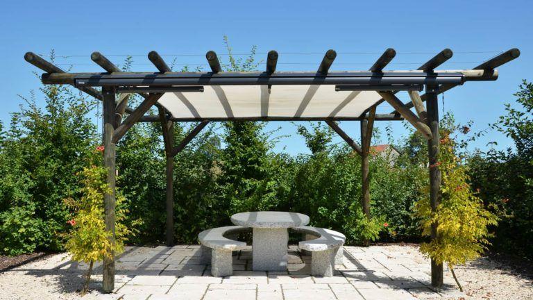 Pavillon Schmuckstück des Gartens