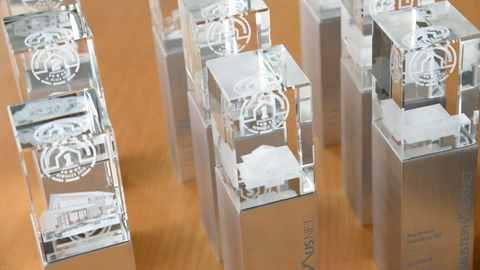 Deutscher Musterhauspreis 2018 Pokale