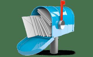 Post erhalten