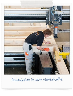 Produktion in der Werkshalle