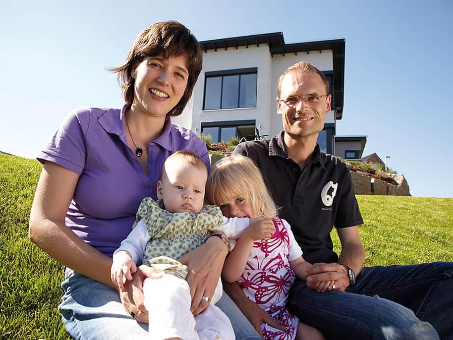 Pultdachhaus Bauherrenstory Familie Leuthold