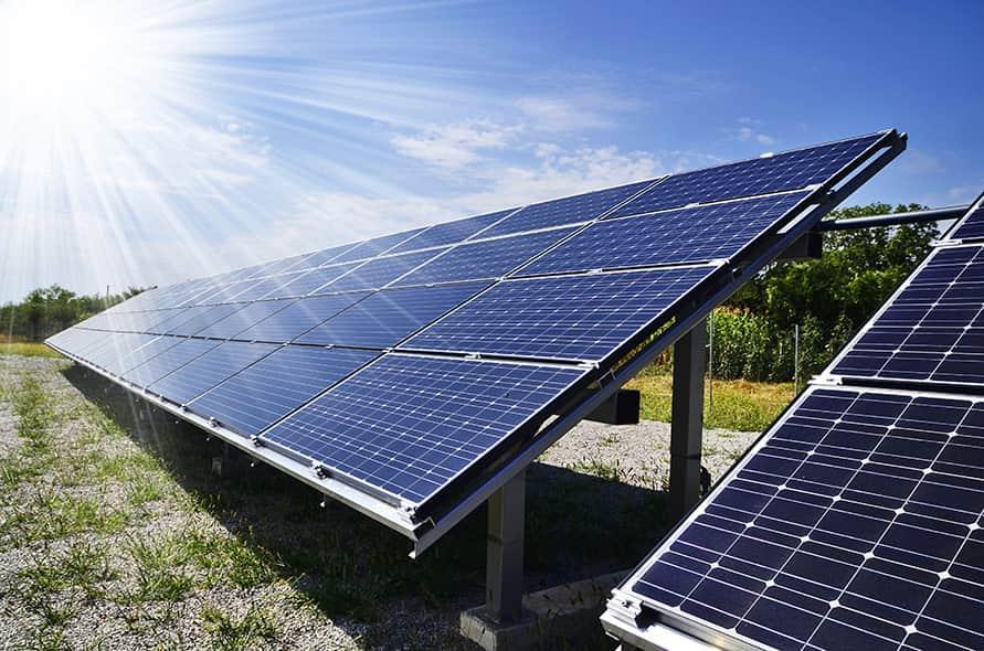 Pultdachhaus Photovoltaik