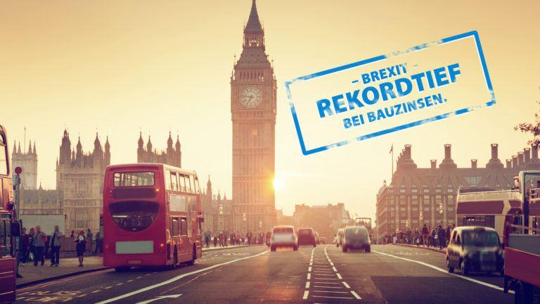 Nach Brexit folgt Rekordtief bei Bauzinsen