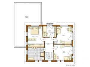 Rensch Haus - Haus Twinline R Savona Grundriss OG