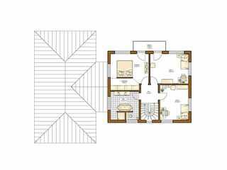 Rensch-Haus – Stadtvilla Atlanta Grundriss OG