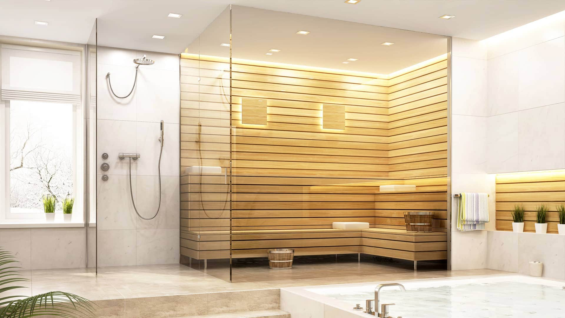 Die Sauna in den eigenen vier Wänden muss kein Wohntraum bleiben.