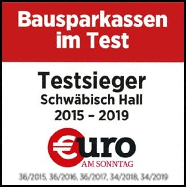 Beste Bausparkasse 2015-2019