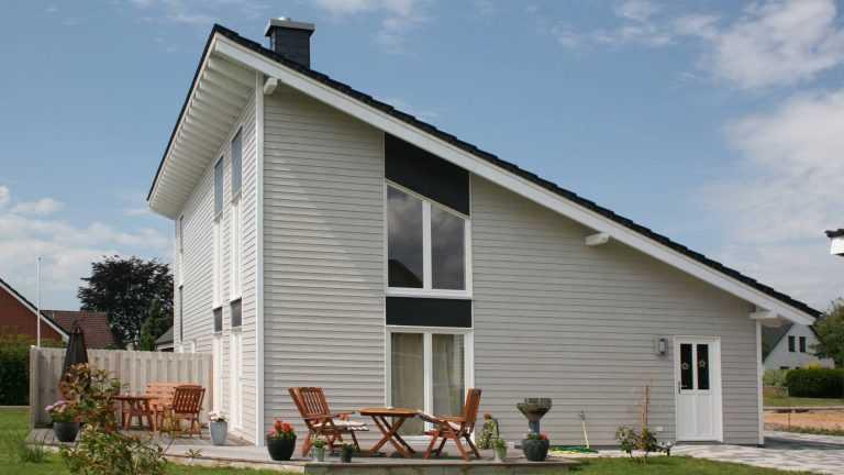 Schwedenhaus naturweiß