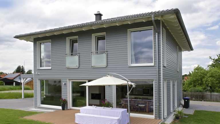 Schwedenhaus perlgrau