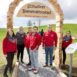 SchwörerHaus Bienenlehrpfad – am 03.06.2016