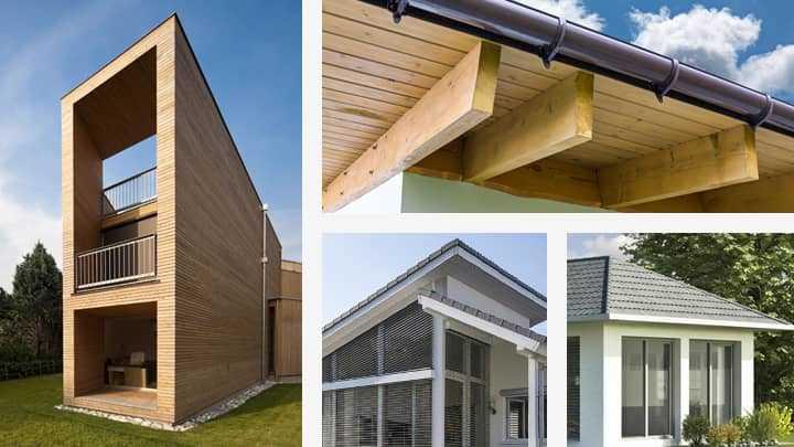 Übersicht der Dachformen beim Singlehaus
