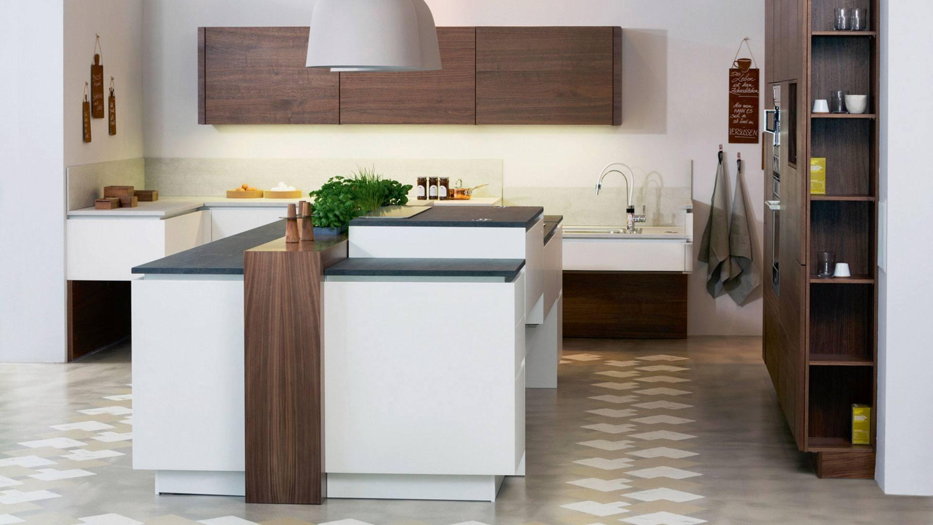 Smart Kitchen stufenlose Einstellung von Arbeitsflächen