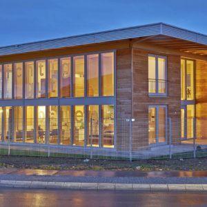 Sonnleitner Holzhaus – neues Kundenzentrum