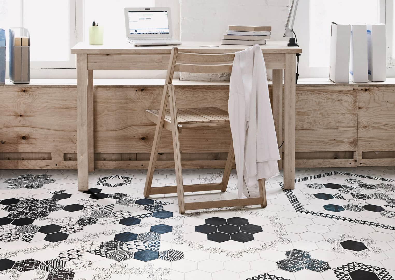 spanische fliesen f rs wohnzimmer bad und k che. Black Bedroom Furniture Sets. Home Design Ideas