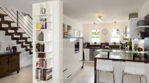 Stadthaus - offene Küche