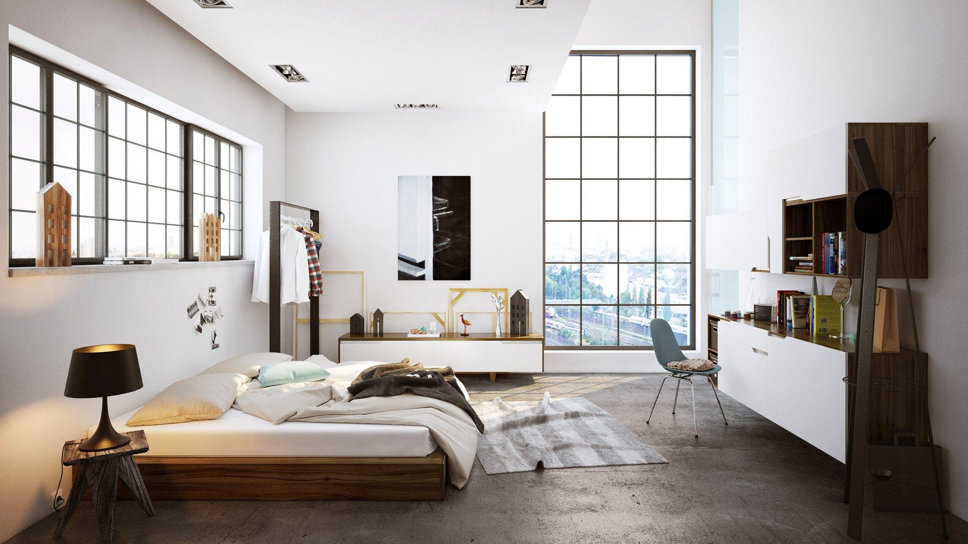 Stadthaus Schlafzimmer