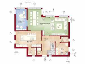 Stadtvilla bauen vergleiche h user anbieter und preise for Eigenheim grundrisse