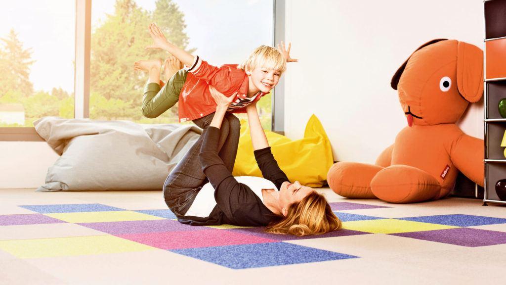 Teppichboden aus Schurwolle