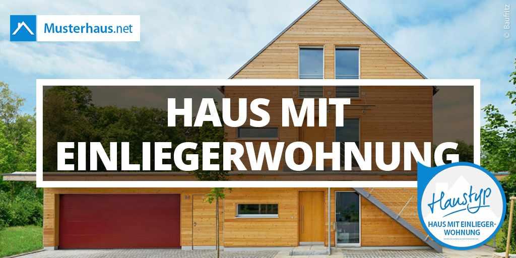 Einfamilienhaus mit einliegerwohnung im keller  Haus mit Einliegerwohnung - Grundrisse, Ansichten & Preise