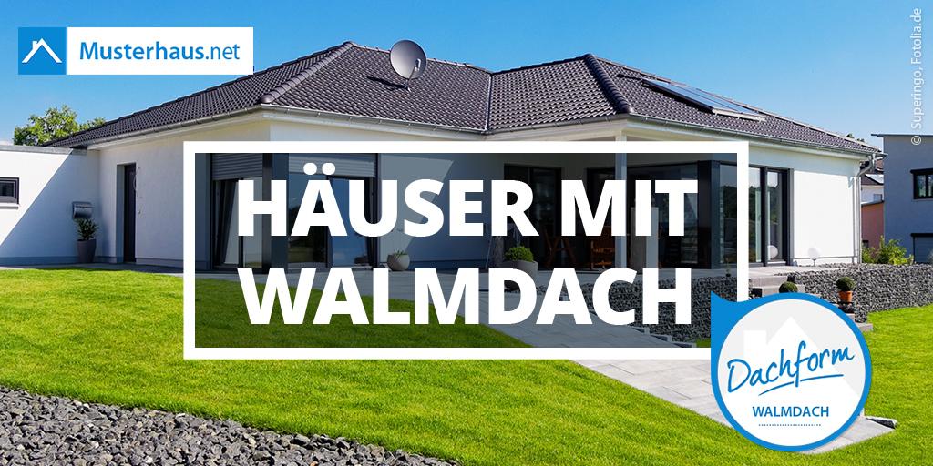 Walmdach planen und bauen – alle Infos bei Musterhaus.net