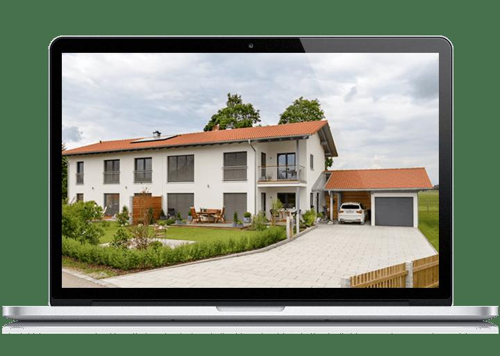 Video über ein Doppelhaus von Albert Haus
