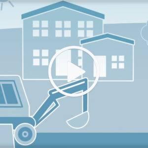Erklärfilm über die Förderung durch die KfW im Bereich energieeffizientes Bauen