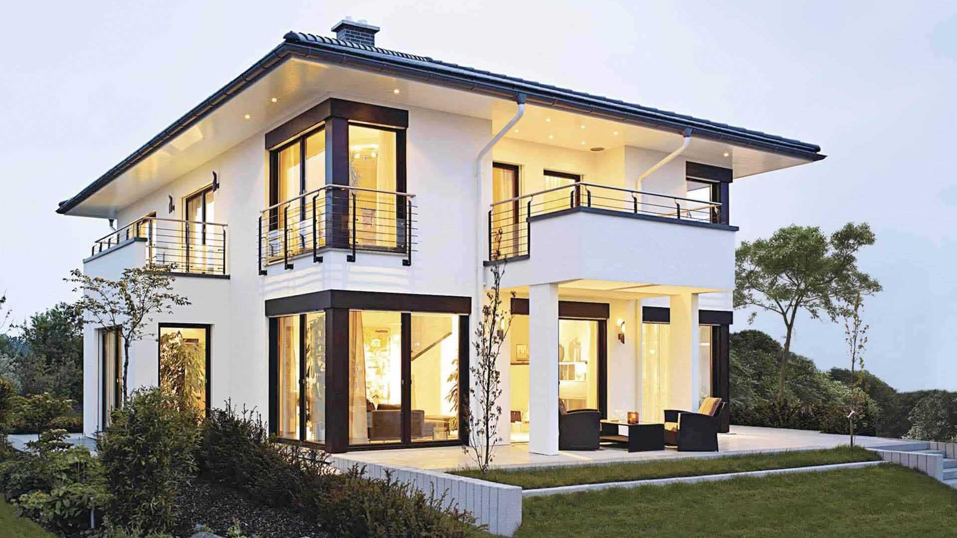 Stadtvilla bauen? Vergleiche Häuser und Preise auf Musterhaus.net