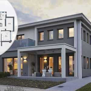 Hingucker: Die neue Stadtvilla von WeberHaus