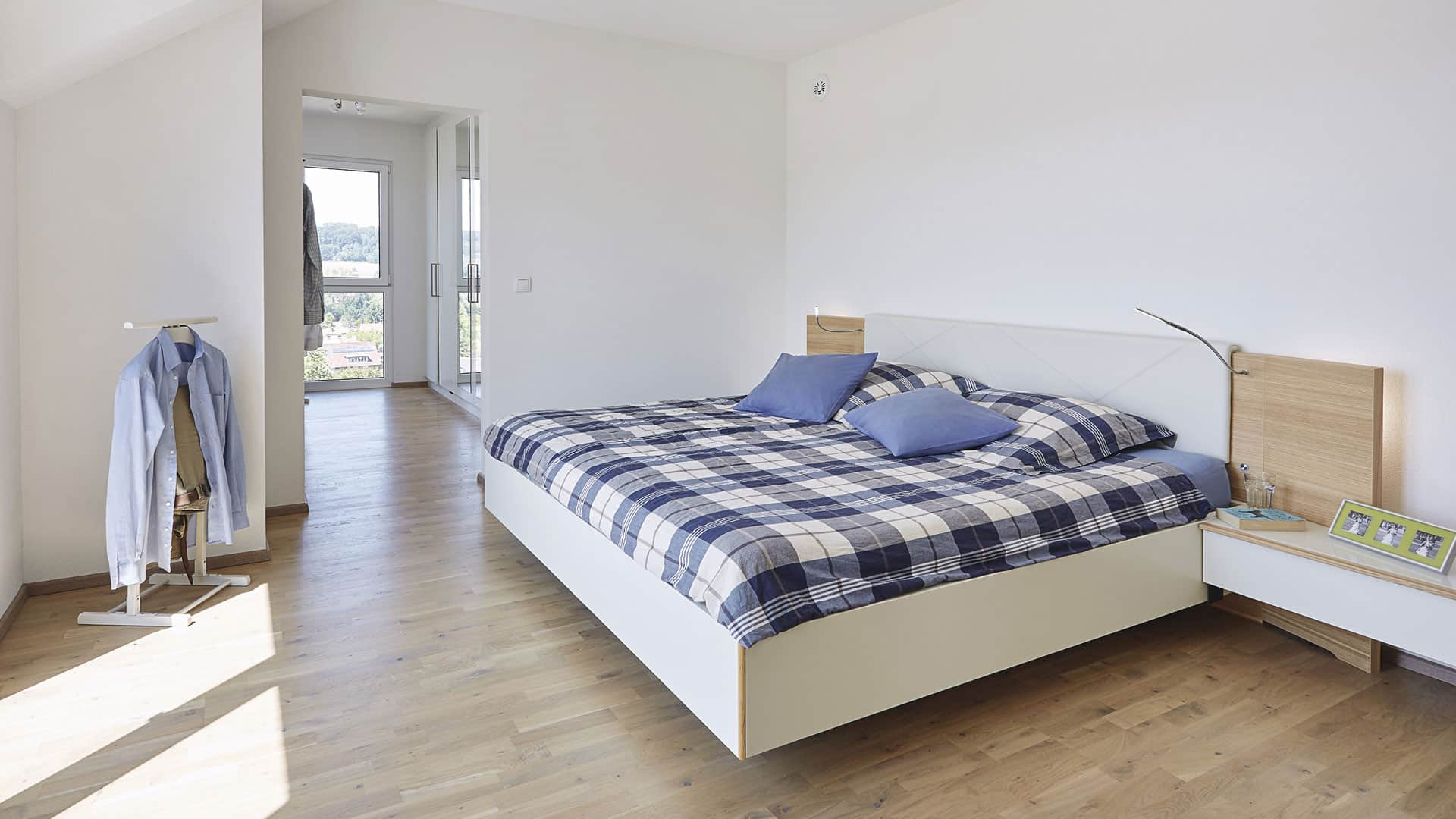 Wohnen im WeberHaus: Schlafzimmer