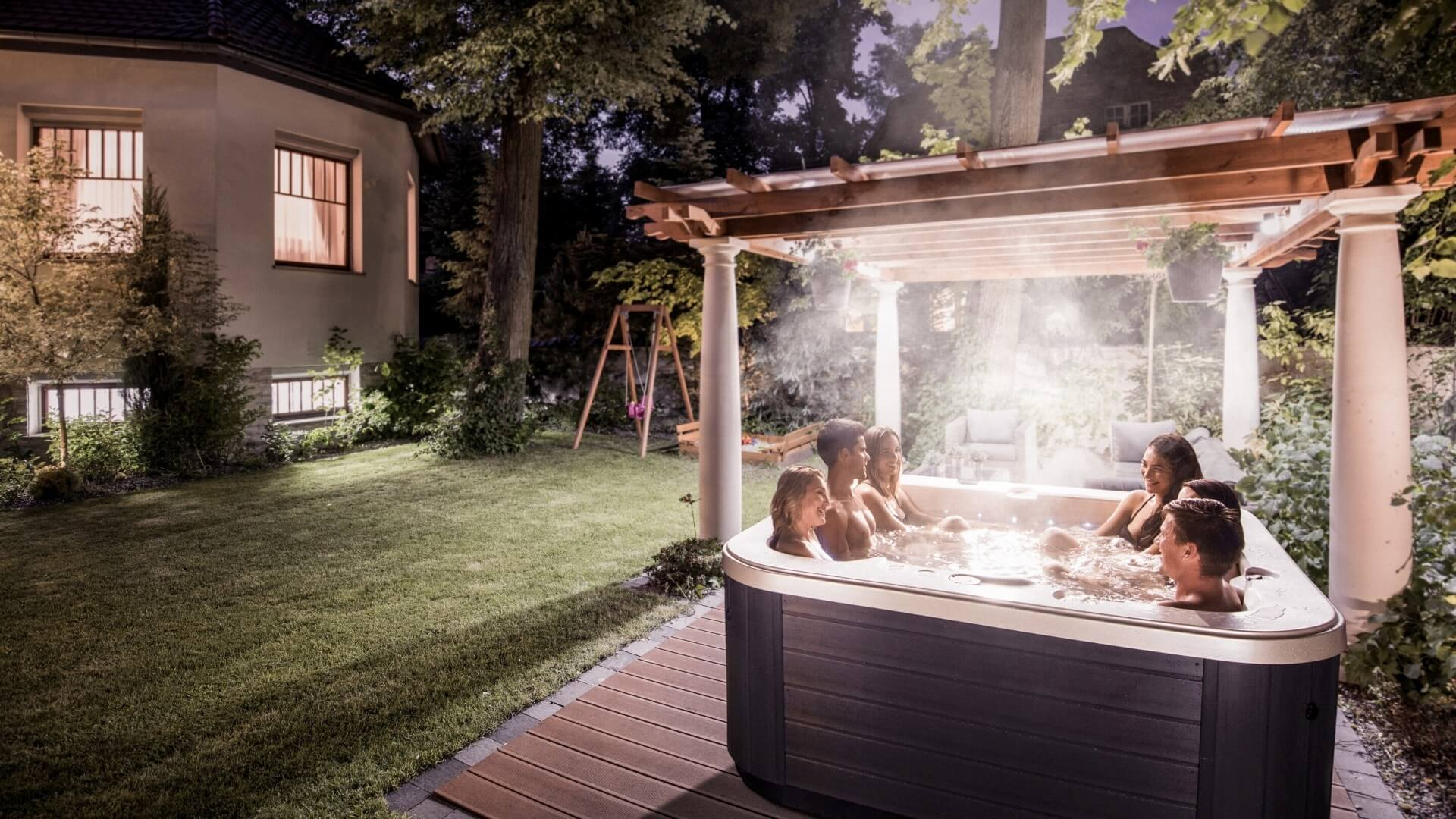 Whirlpool - Wellnessoase Garten