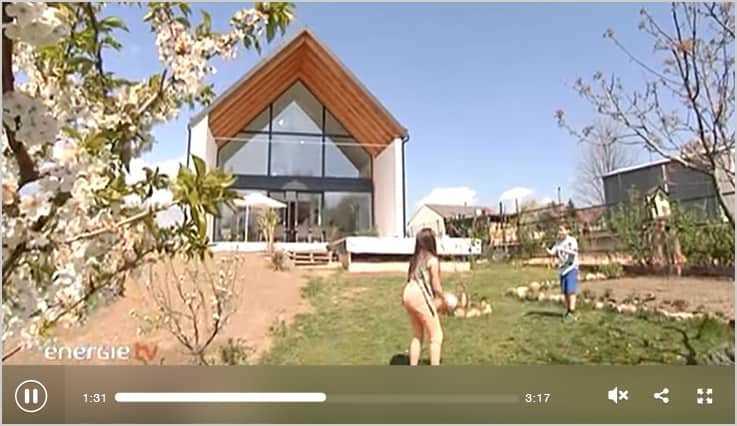 Wohnen im Passivhaus Video