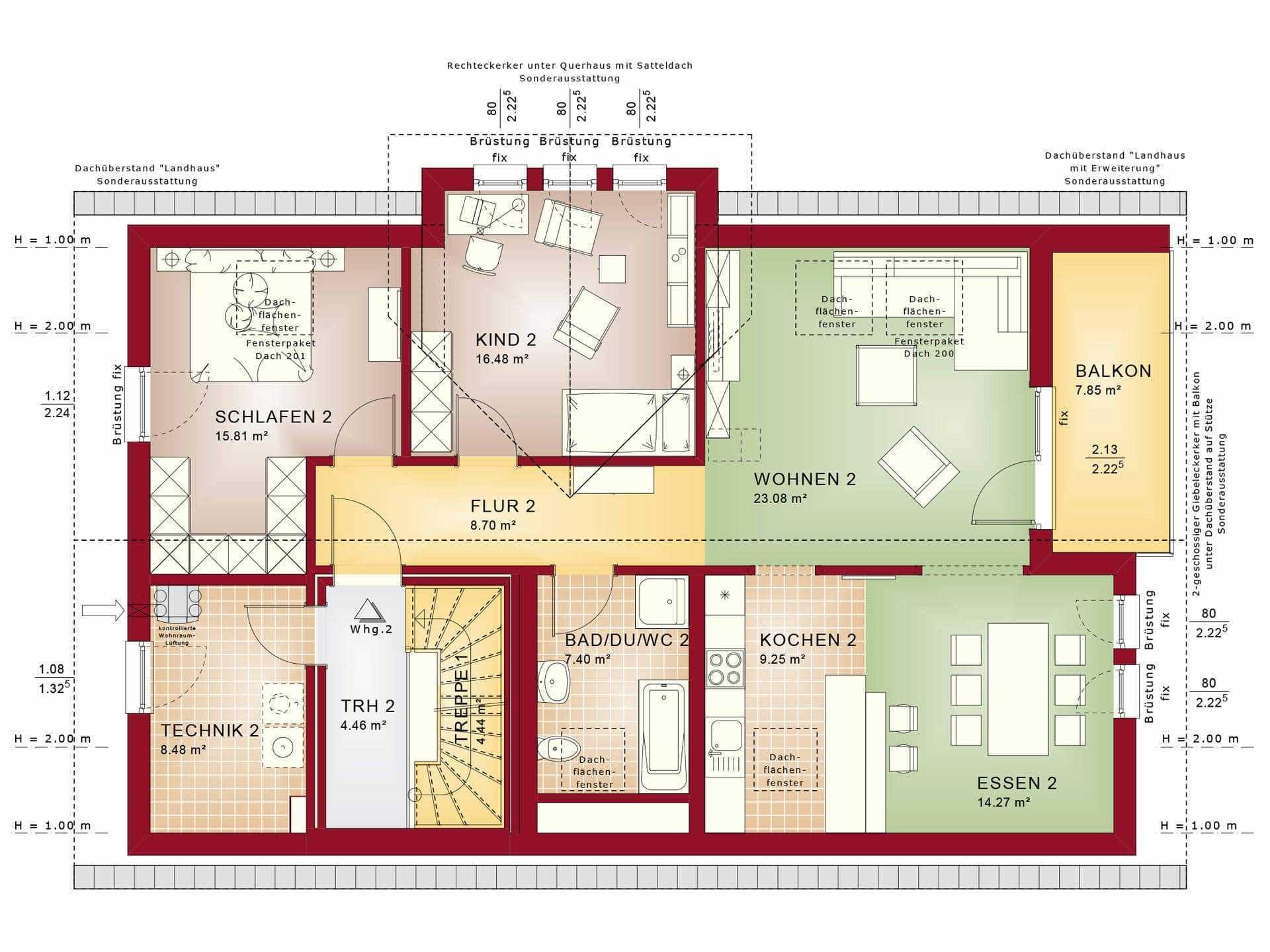 Zweifamilienhaus bauen h user anbieter preise for Zweifamilienhaus grundriss