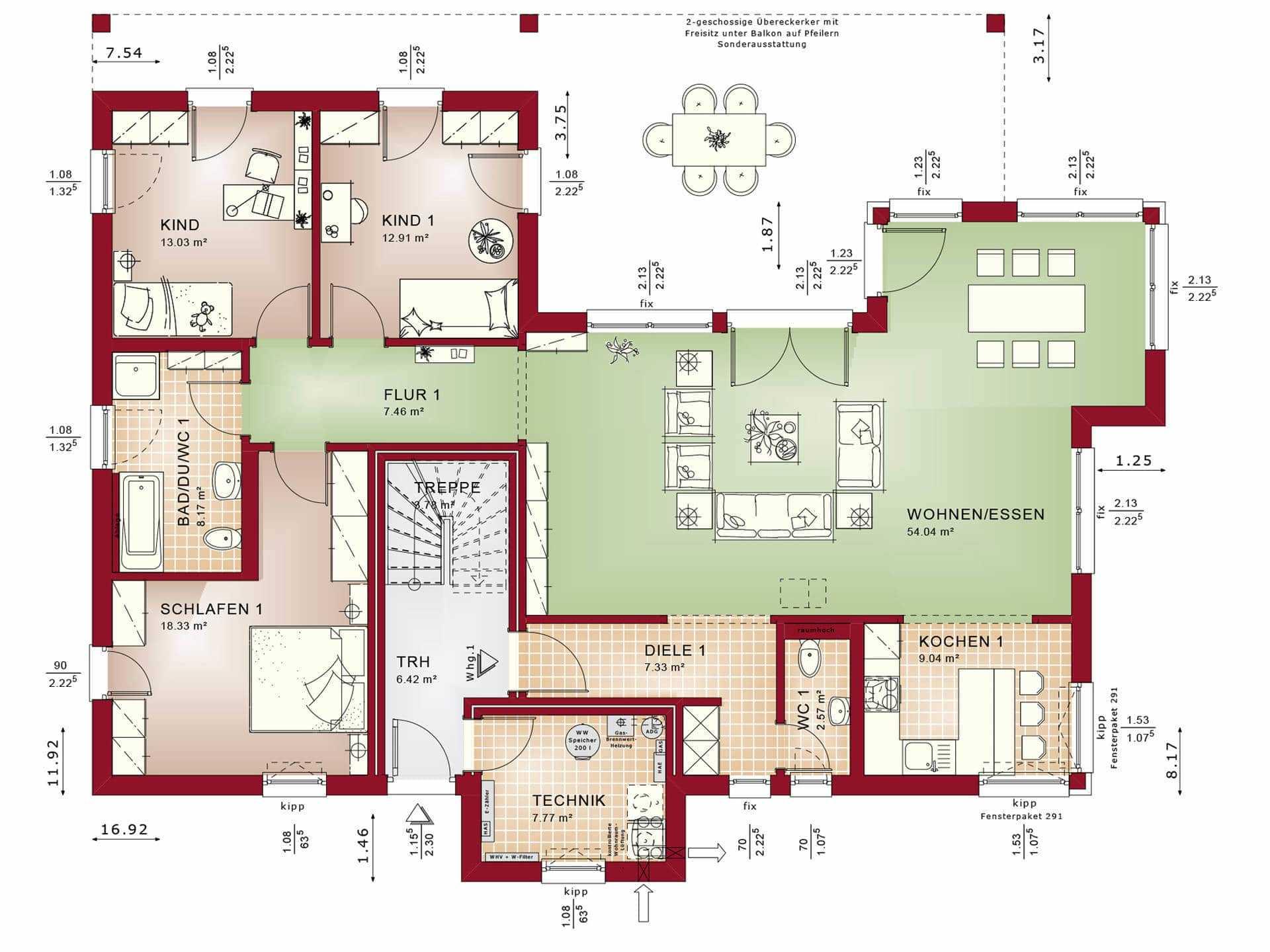 Bauen Zweifamilienhaus Grundriss : zweifamilienhaus bauen h user anbieter preise ~ Lizthompson.info Haus und Dekorationen