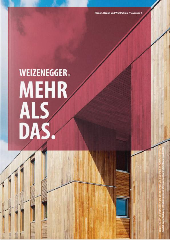 Katalogtitel Weizenegger 2021