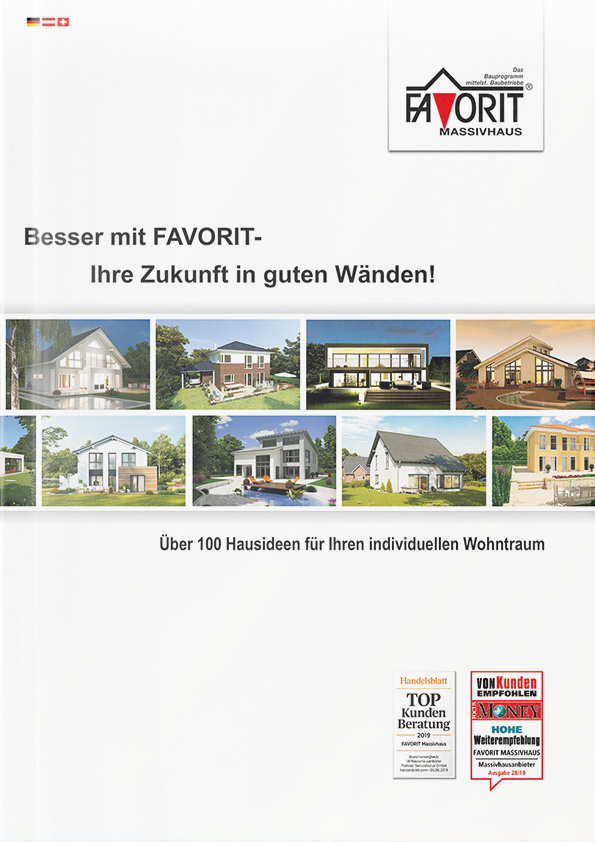 FAVORIT Massivhaus Katalog 2020