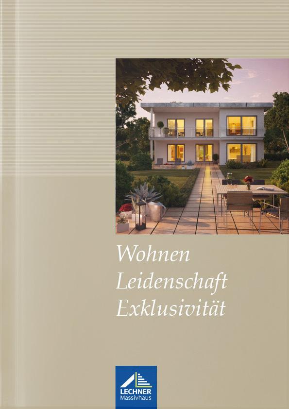 Katalogtitel Lechner Massivhaus