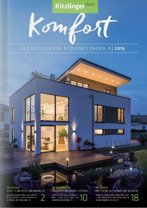 Kitzlinger Haus Katalog