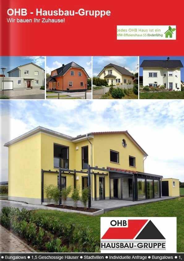 Katalog OHB Hausbau Gruppe Thüringen