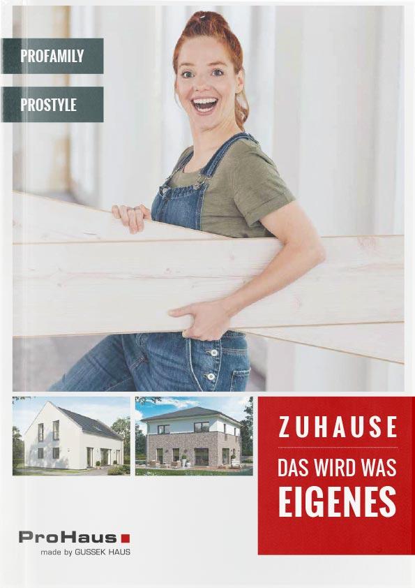 ProHaus Katalogtitelseite 2021