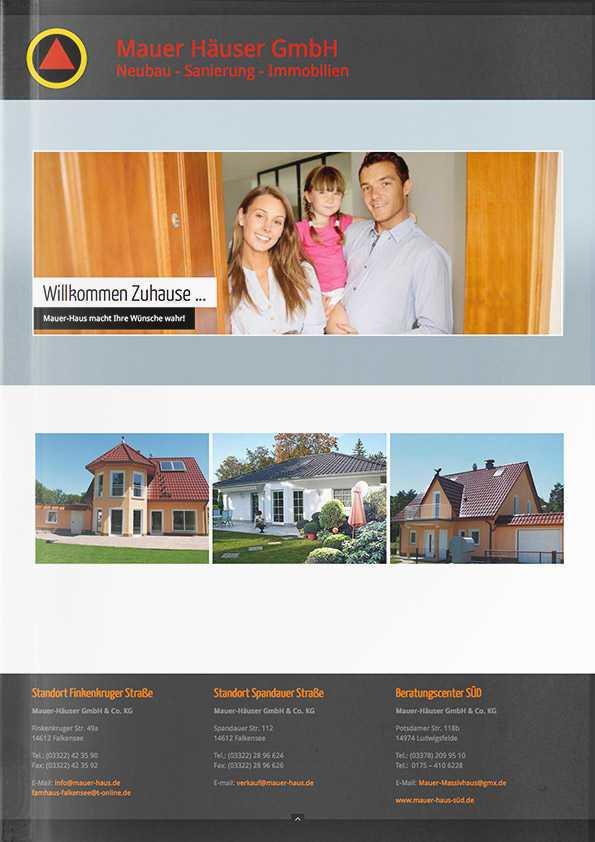 Katalog Mauer-Häuser