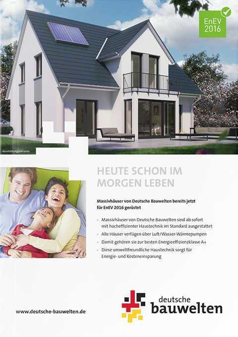 deutsche bauwelten alle h user preise und grundrisse. Black Bedroom Furniture Sets. Home Design Ideas