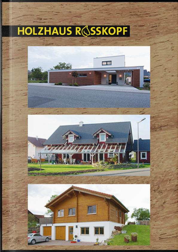 Katalog Holzhaus Rosskopf
