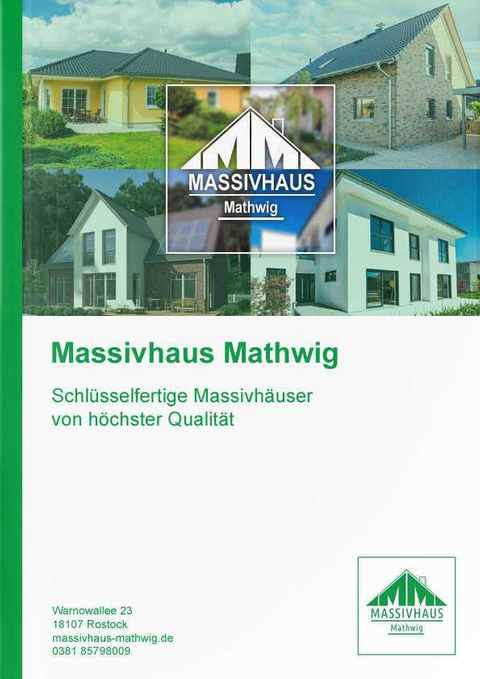 Katalog Massivhaus Mathwig