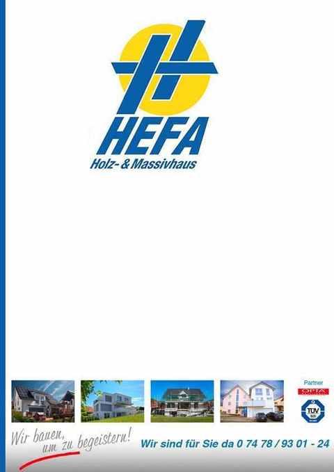 Katalog HEFA Holz & Massivhaus