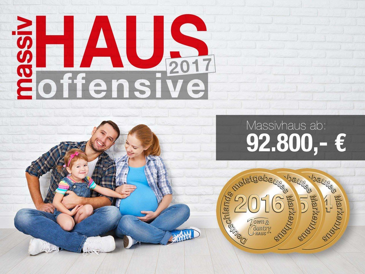 Town & Country Haus - Massivhaus Offensive 2017