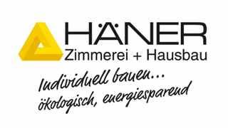 Häner Zimmerei + Hausbau Logo 16 zu 9